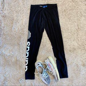 Adidas Originals Cotton Trefoil Logo Leggings